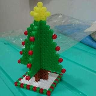 應景聖誕立體拼豆