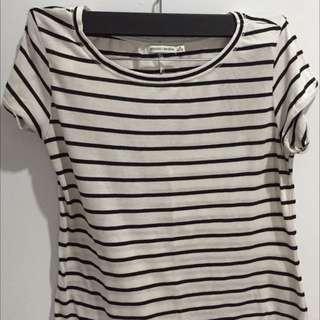 Stripe tshirt Bershka