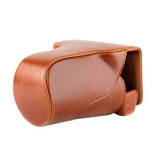 leather case canon eos M3