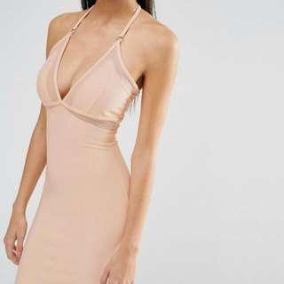 Size 8 Misguided Midi Dress