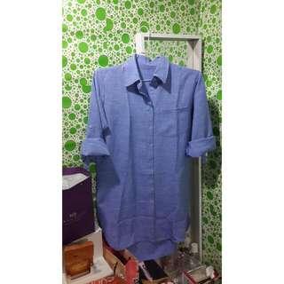 Baju Terusan / Long Dress / Baju Kemeja