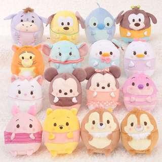 [InStock] Japan Disney Store Ufufy Plushies