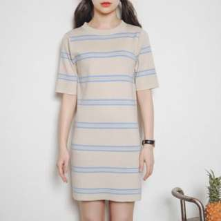 [CLEARANCE] Knit Casual Dress