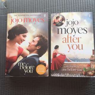 Jojo Moyes Book Set