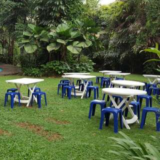 Stools & Tables For Rent