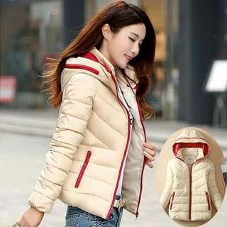 6813大碼(M-3XL)時尚羽絨服 保暖小外套 (8色)