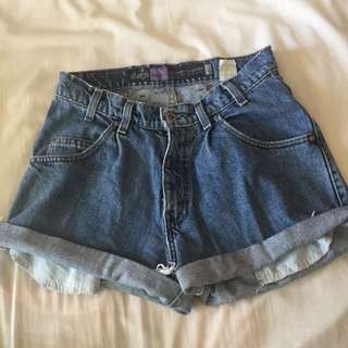Levi SilverTab Baggy Denim Shorts