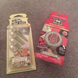 Yankee Candle Car Air Fesheners