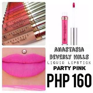 Liquid Lipstick | Anastasia Beverly Hills | Party Pink