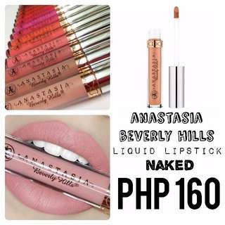Liquid Lipstick | Anastasia Beverly Hills | Naked
