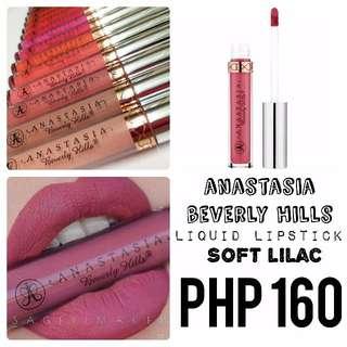 Liquid Lipstick | Anastasia Beverly Hills | Soft Lilac