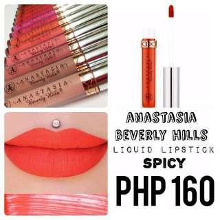 Liquid Lipstick | Anastasia Beverly Hills | Spicy