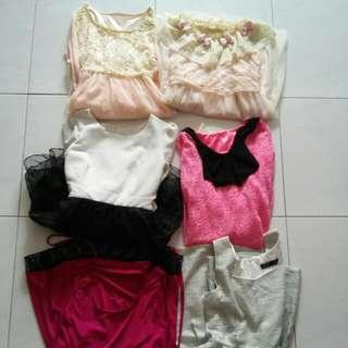 Bundle @10sgd Teens Dresses