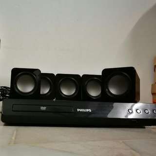Phillip 5.1 Sound System