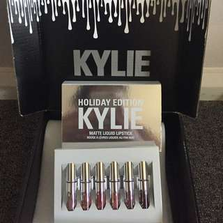 "Kylie Jenner ""holiday Edition"" Mini Kit - Matte Liquid"