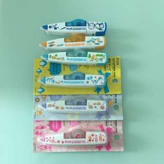 Limited Edition Correction Tapes with design