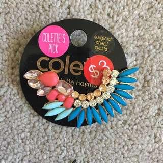 Colette Aqua Luxe Multi Stn Ear Cuff