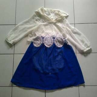 Dress Pendek Renda