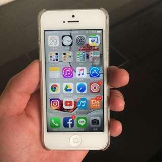 iPhone 5 32G 白