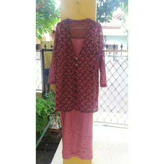 SALE ! Dress Wanita Brukat