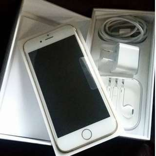 New iphone 6s 128GB only tested, never used.