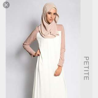 PRICE REDUCED LoveToDress Basic Fatihah In Cream and Nude Size Petite XS