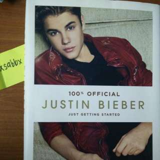 [PRICE REDUCED] Justin Bieber - Just Getting Started