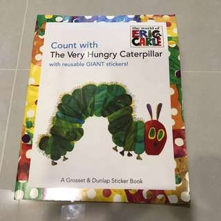 The Very Hungry Caterpillar Sticker Book