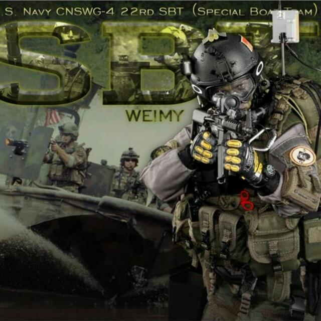 DID DRAGON IN DREAMS 1:6TH SCALE US NAVY SBT RADIO WITH HEADSET  FROM WEIMY