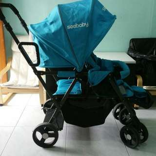 Front Back See Baby Stroller Nego