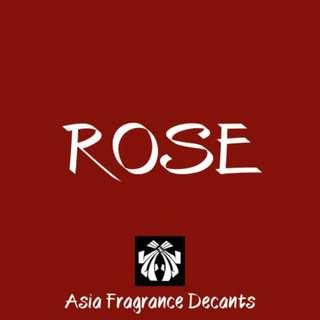 Rose based Fragrances