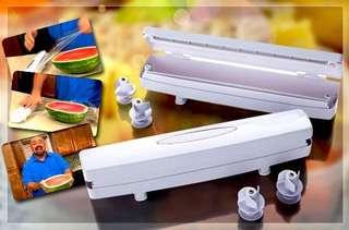 Best Seller Wraptastic Alat Pembungkus Makanan Plastik Dispenser Film