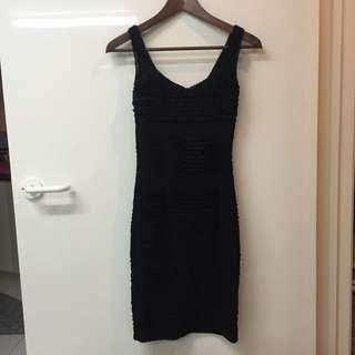 Black Bodycon Dress Size 8/XS