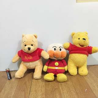 FOR SALEEEEEE POOH AND AMPAMAN