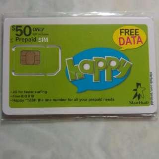 Starhub Prepaid Card