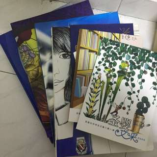 CHIJ Graduation And Poetry Books