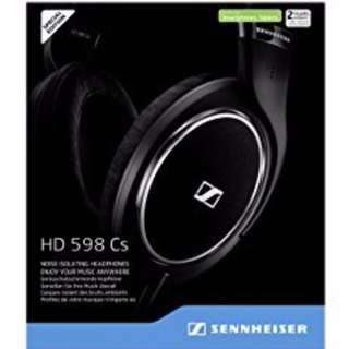 Sennheiser HD598 Cs Closed Back Headphones