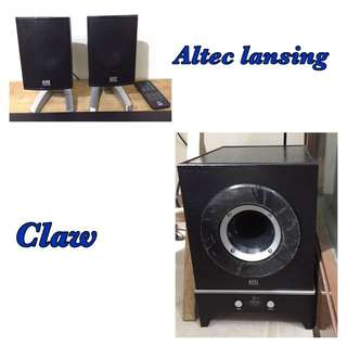 Altec Lansing Claw 2.1 Bluetooth