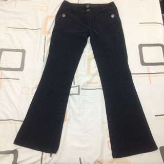 Dorothy Perkins Black Flare Jeans