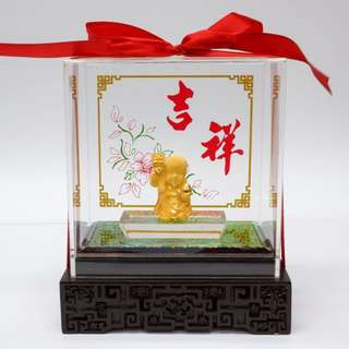 24K Gold Ornament (寿星)