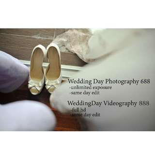 Wedding photo and video service