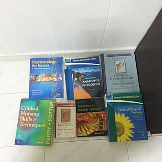 Medical And Nursing Books