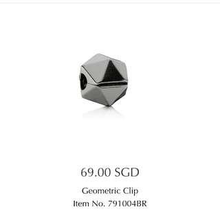 Pandora Geometric Charm