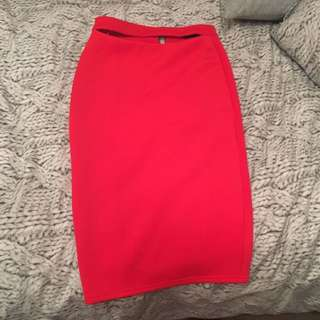 Mossman Red Skirt