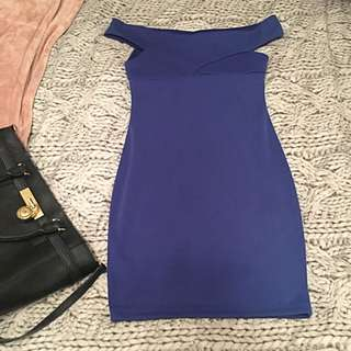 Miss Selfridge Blue Dress