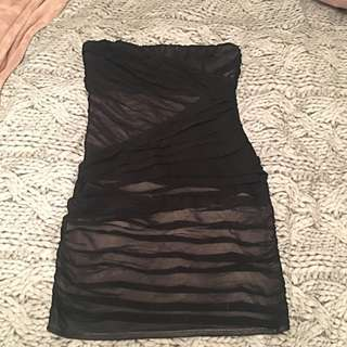 Dotti Small Tight Black Dress