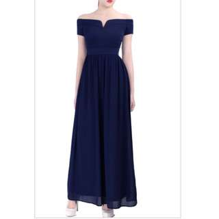 Doublewoot Diffany Dress In Navy