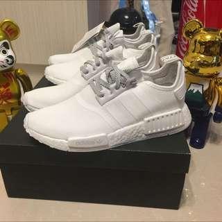 Adidas NMD R1  Triple White  s31506  US8.5 x 2 全新 有單 鞋後有日字