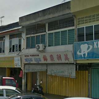 for sale 2 storey shop lot teluk intan