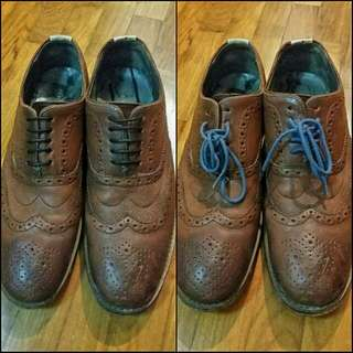 Ted Baker Brown Brogue Shoes - US10, UK9, EU44